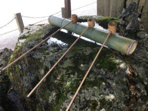 多田神社手水舎