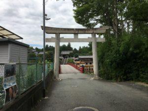 多田神社鳥居2