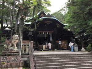岡崎神社社殿