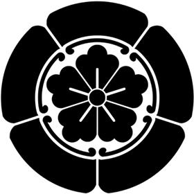 五瓜に唐花紋