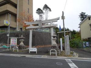 走田神社鳥居