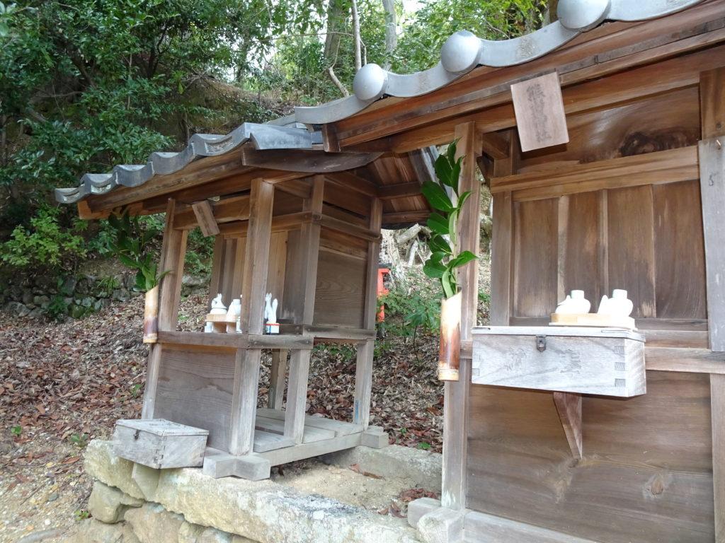 走田神社摂社(熊野神社・稲荷神社)