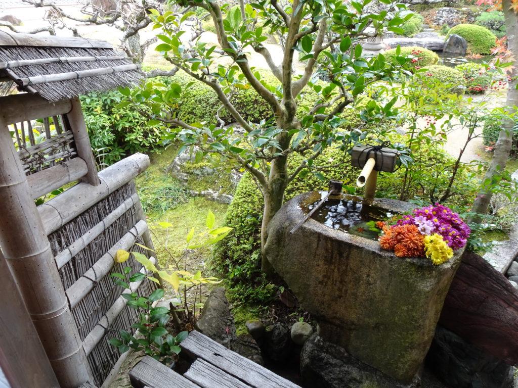 正法寺小手水鉢