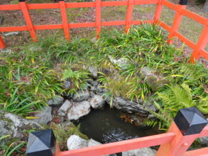 大原野神社瀬和井の水