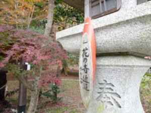 大原野神社勝持寺へ