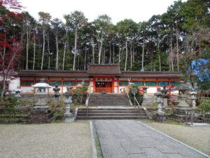 大原野神社本殿1