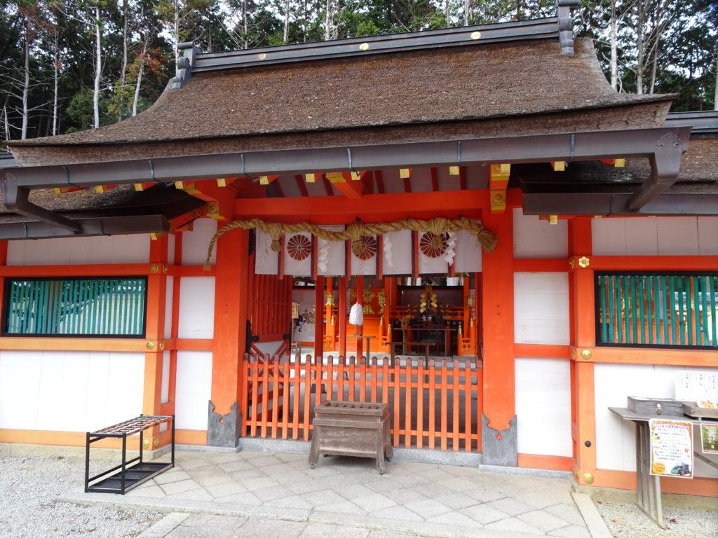 大原野神社本殿2
