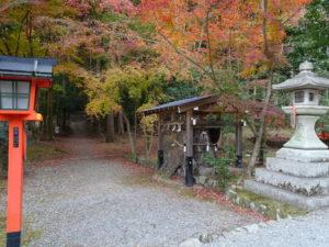 大原野神社勝持寺へ2