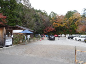大原野神社駐車場