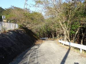 片山神社へと向かう道