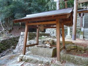 片山神社手水舎1