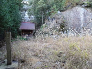 片山神社本殿跡2