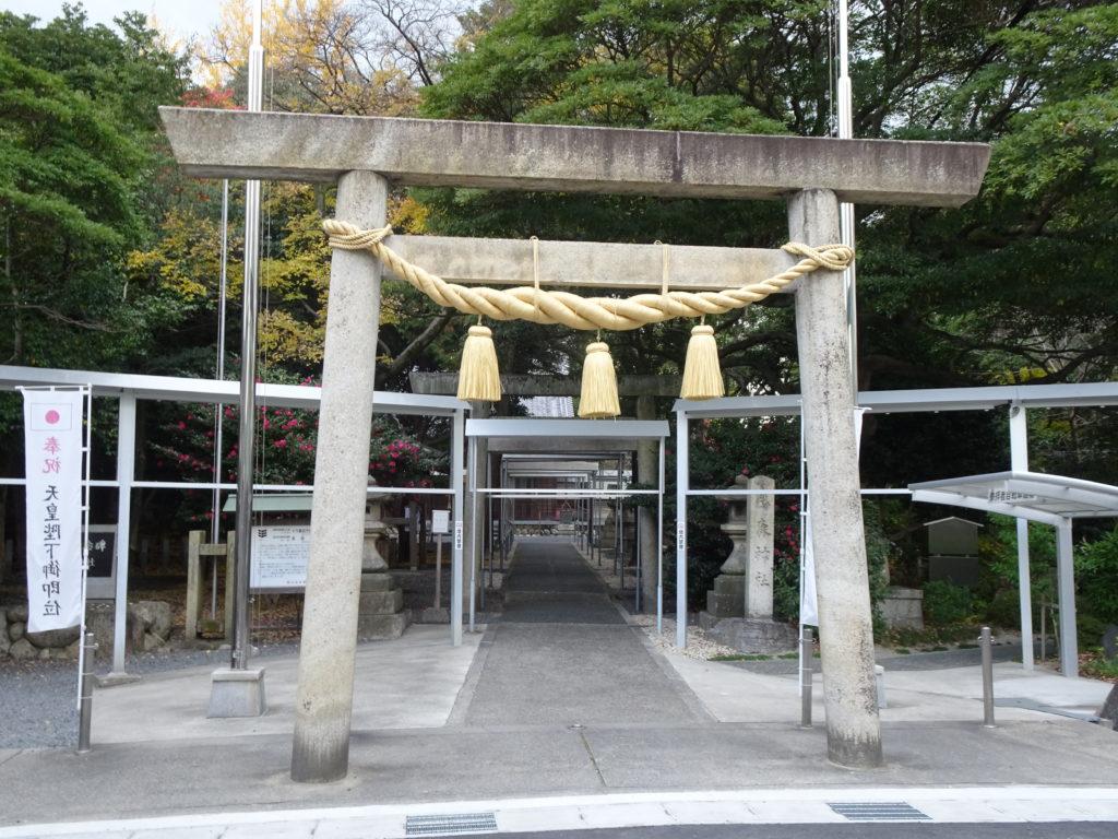 鵜森神社一の鳥居