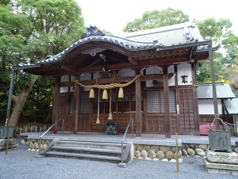 鵜森神社本殿1