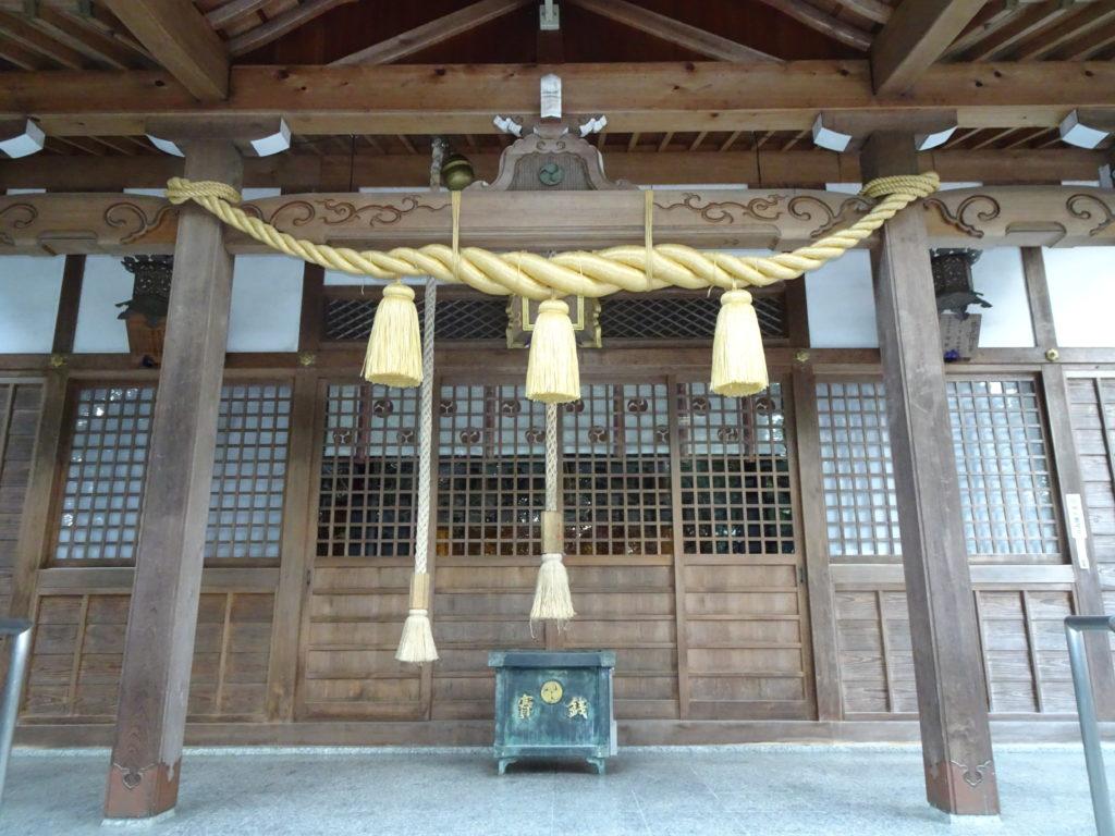 鵜森神社本殿2