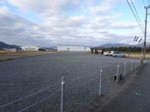 走田神社参拝者専用駐車場