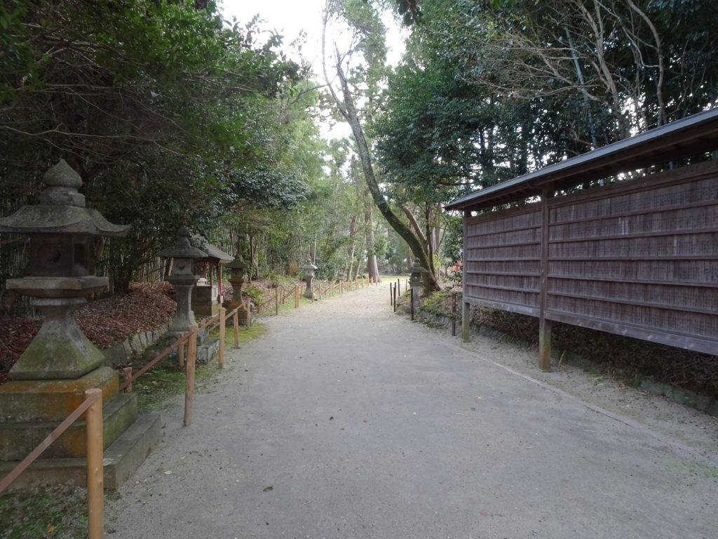 走田神社参道1