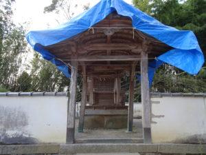 走田神社稲荷社社殿