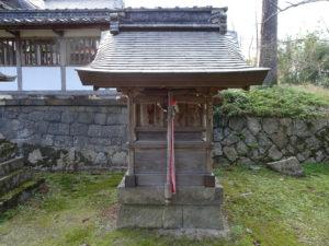 走田神社摂社・経津主社