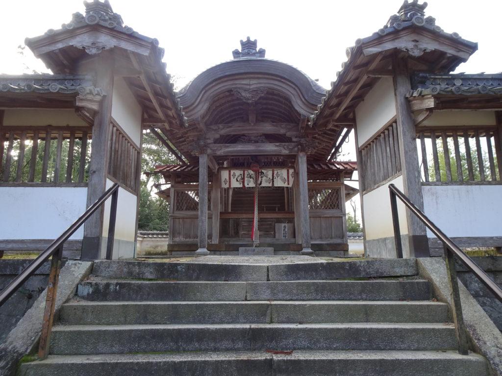 走田神社本殿1