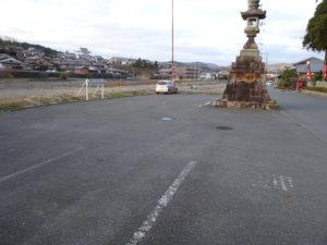 生身天満宮参拝者専用駐車場
