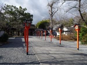 平野神社参道