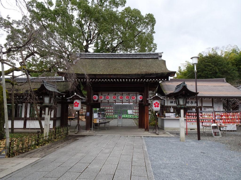 平野神社東門