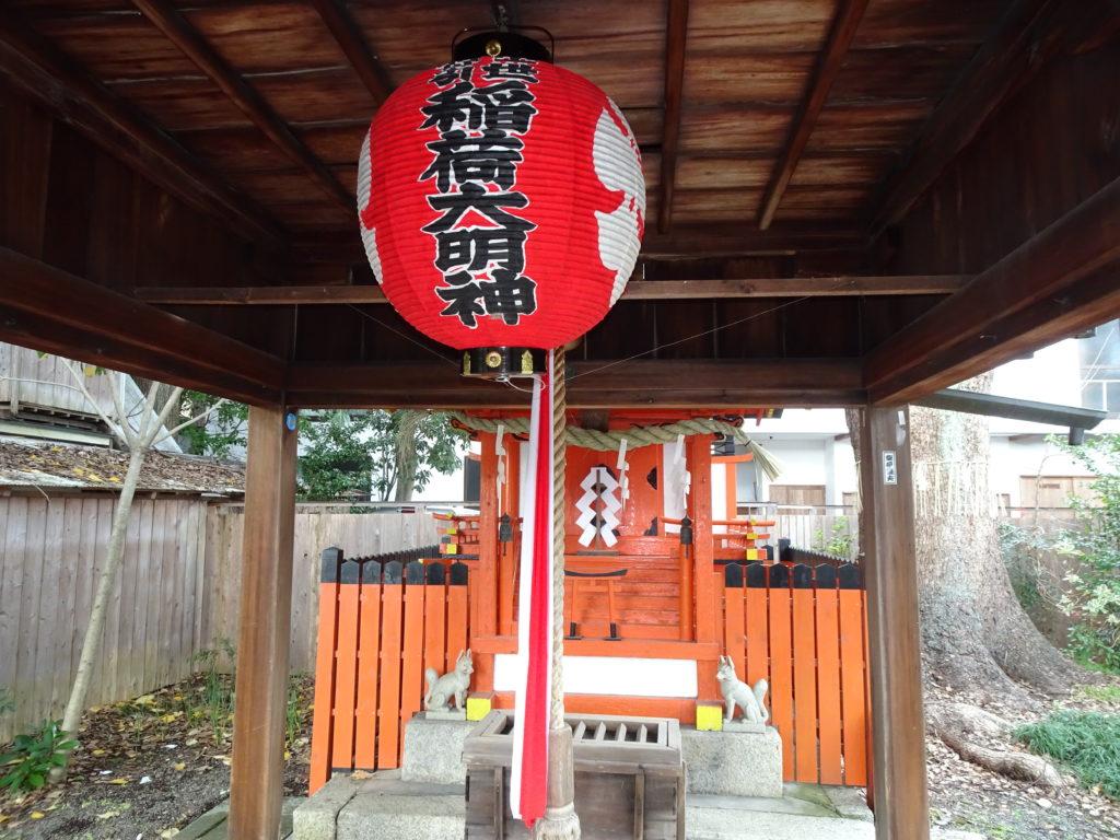 平野神社末社・出世導引稲荷神社2