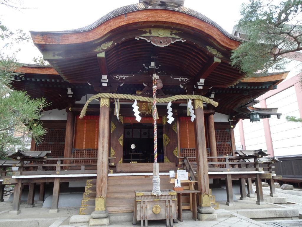 大将軍八神社本殿2