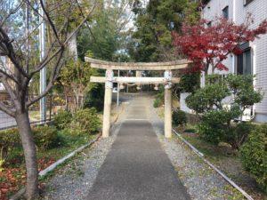 神足神社二の鳥居