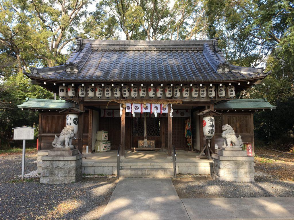 神足神社本殿