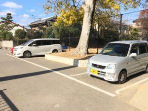 神足神社駐車場