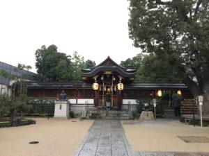 晴明神社本殿1