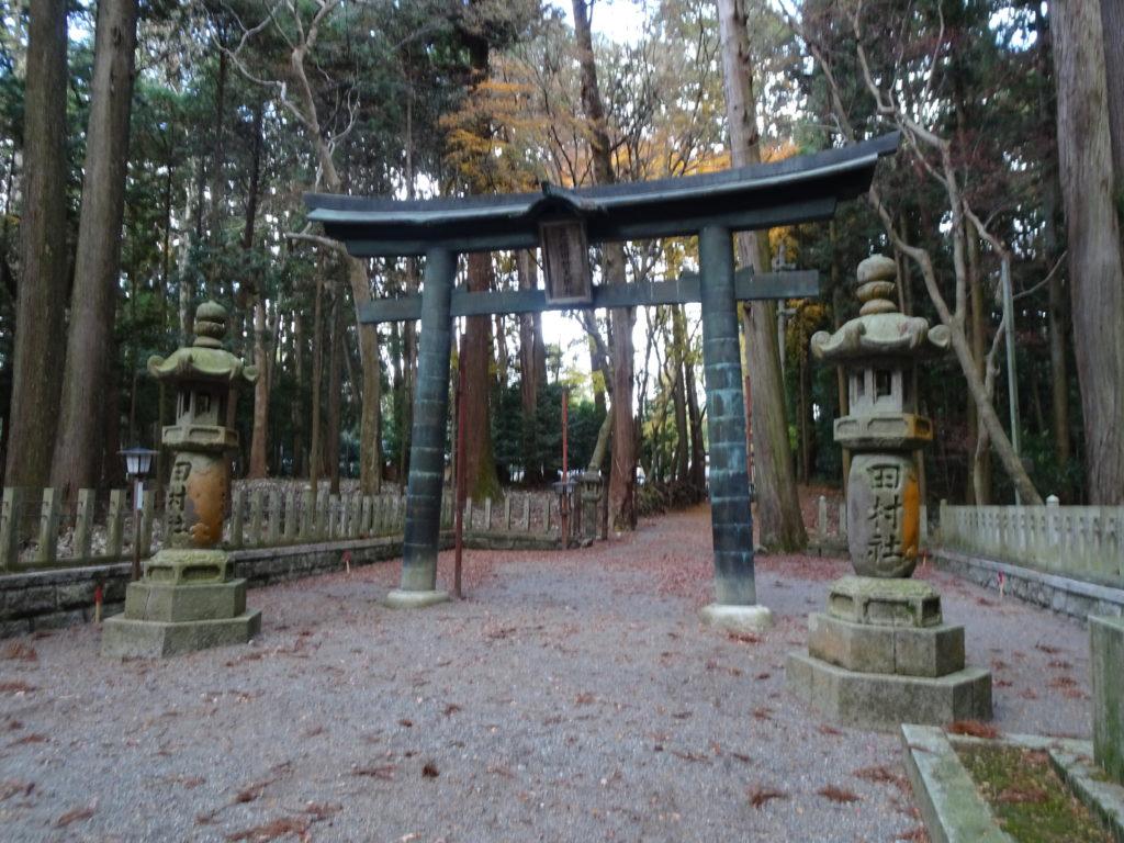 田村神社二の鳥居