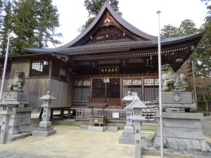 田村神社拝殿1