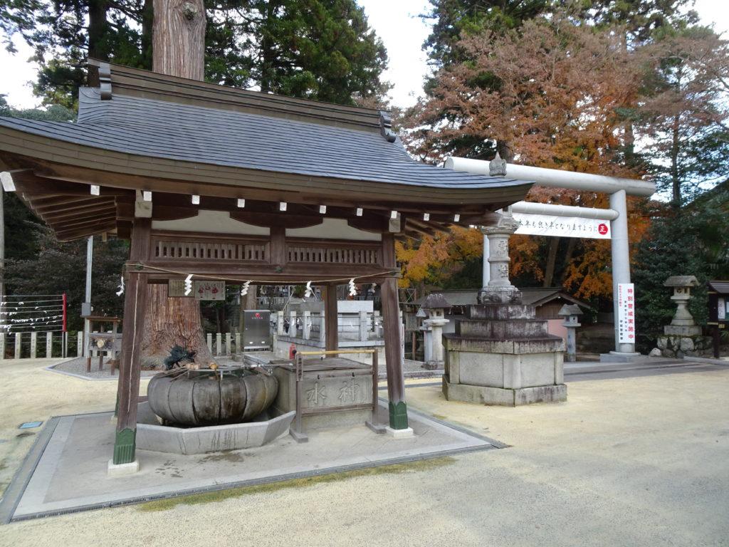 田村神社手水舎