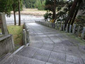田村神社から田村川へ