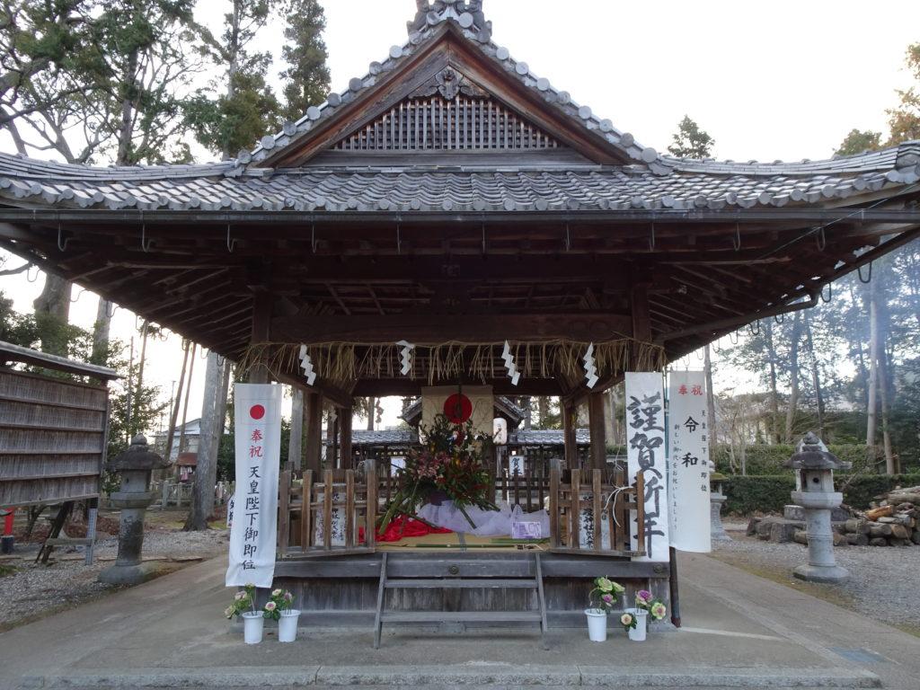 篠村八幡宮拝殿