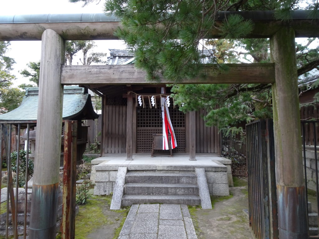 剣神社末社・朝日神明宮