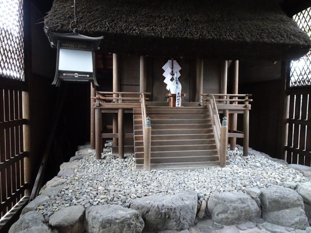 剣神社末社・朝日神明宮2
