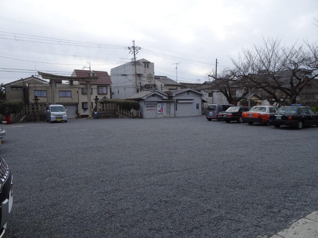 六孫王神社 参拝者専用駐車場