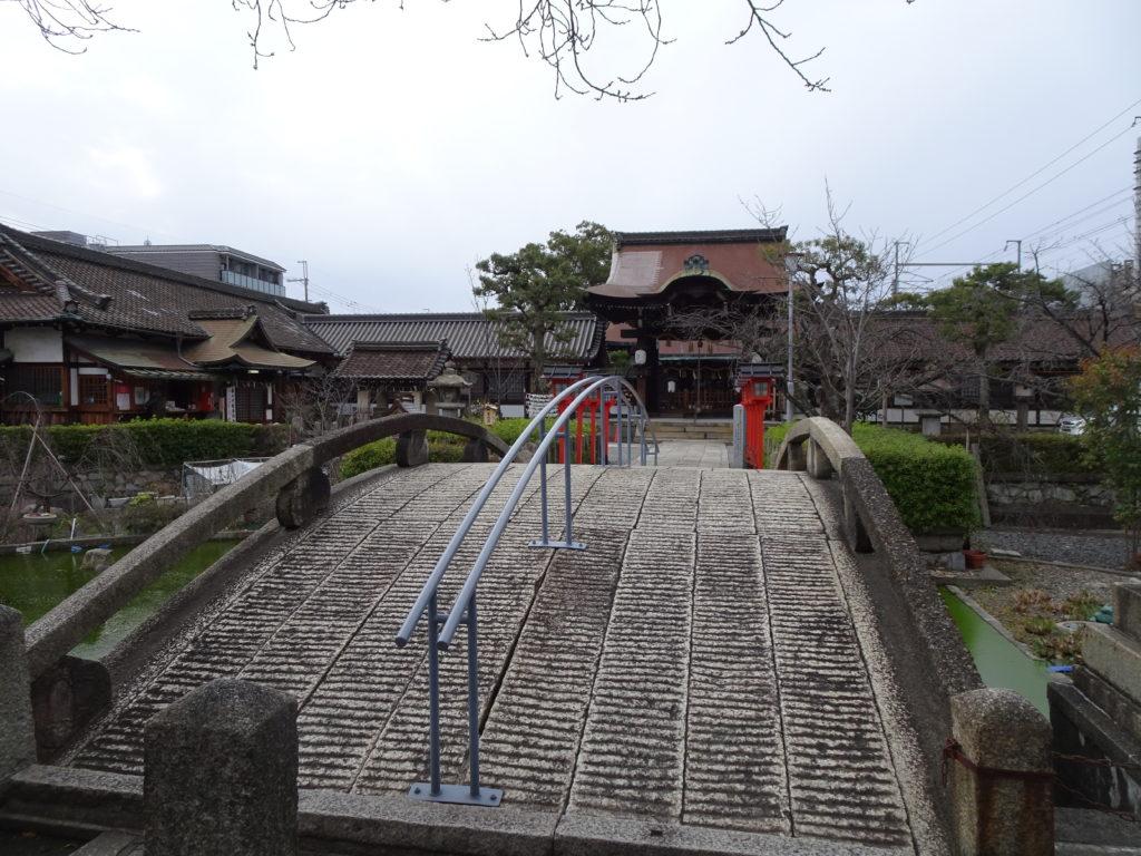 六孫王神社 石橋1