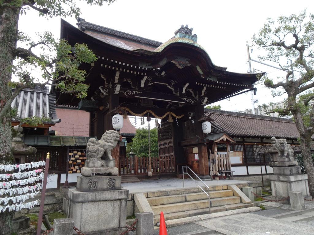 六孫王神社 拝殿