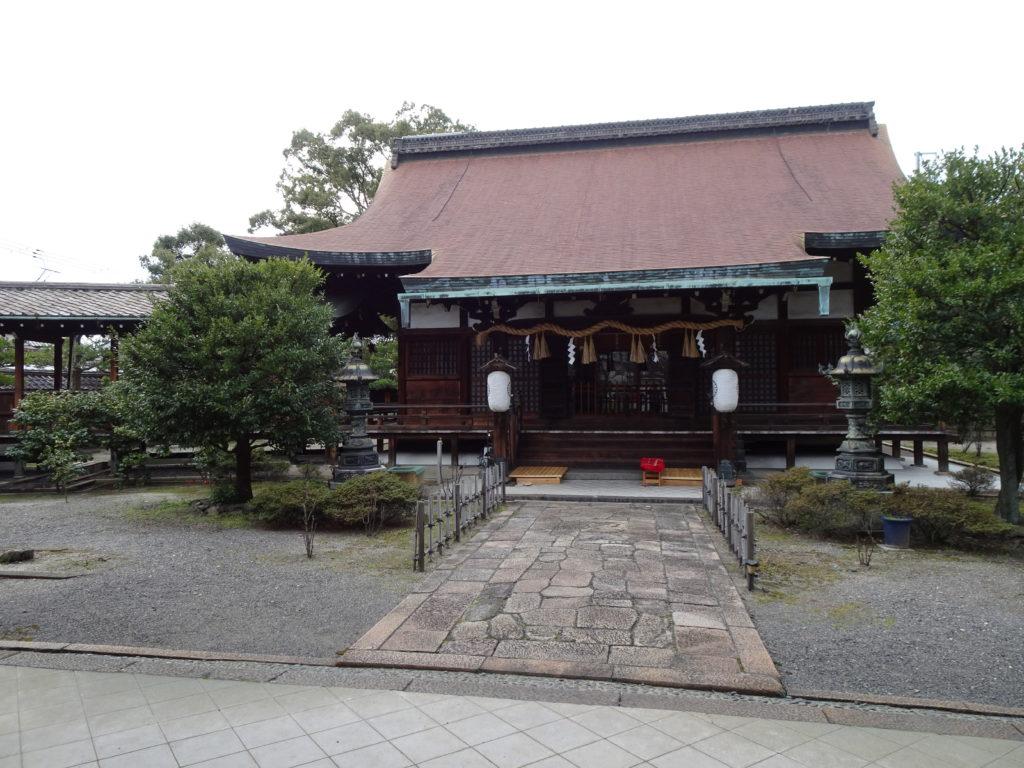 六孫王神社 拝殿3