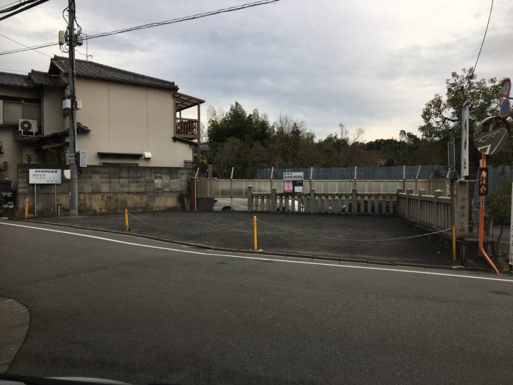 剣神社参拝者専用駐車場